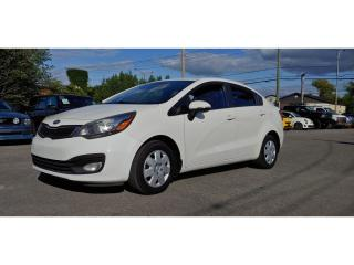 Used 2012 Kia Rio *CAMERA*BT*TOIT* 30$/sem for sale in St-Jérôme, QC