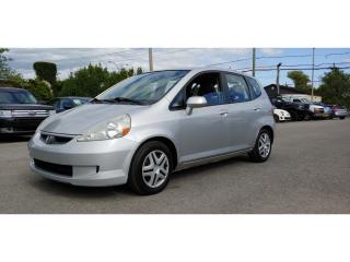 Used 2007 Honda Fit *AUTOMATIQUE*BAS MILLAGE* for sale in St-Jérôme, QC