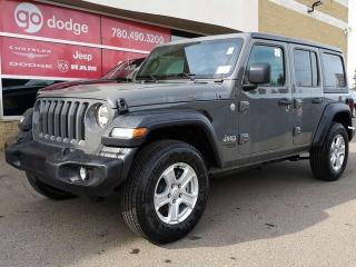 New 2019 Jeep Wrangler Unlimited Sport / Back Up Camera for sale in Edmonton, AB