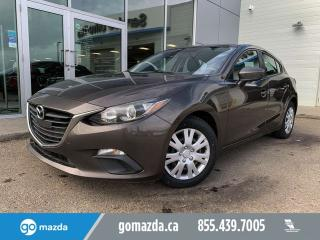 Used 2014 Mazda MAZDA3 GX SPORT MANUAL POWER OPTIONS NEW TIRES for sale in Edmonton, AB