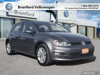 Used 2016 Volkswagen Golf 5-Dr 1.8T Comfortline 6sp at w/Tip for sale in Brantford, ON
