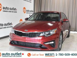 Used 2019 Kia Optima Lx, 2.4L I4, Fwd, Heated cloth seats, Heated steering wheel, Backup camera, Bluetooth for sale in Edmonton, AB