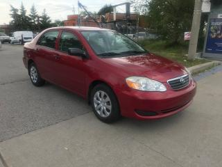 Used 2006 Toyota Corolla 138000KM,SAFETY+3YEARS WARRANTY INCLUDED for sale in Toronto, ON
