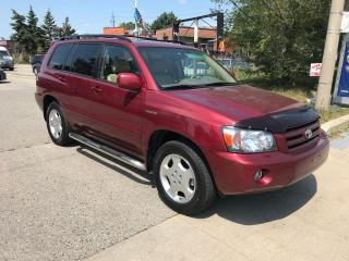 Used 2005 Toyota Highlander LTD,7PASSENGERS,SAFETY+3YEARS WARRANTY INCLUDED for sale in Toronto, ON