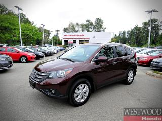 Used 2013 Honda CR-V Touring for sale in Port Moody, BC