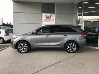 Used 2018 Kia Sorento SX V6 - LOADED!! ONE OWNER, CARFAX CLEAN for sale in Kitchener, ON