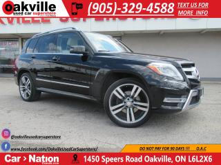 Used 2015 Mercedes-Benz GLK-Class | LEATHER | PANO ROOF | NAVI | B\U CAM for sale in Oakville, ON
