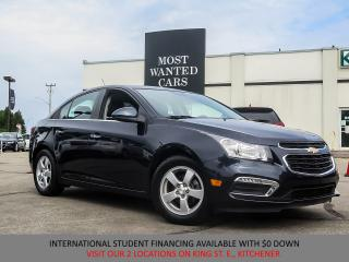 Used 2015 Chevrolet Cruze 2LT | CAMERA | LEATHER | SUNROOF | PIONEER SOUND for sale in Kitchener, ON