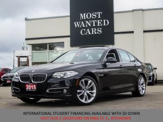 Used 2015 BMW 528 xi xDrive | NAVIGATION | SUNROOF for sale in Kitchener, ON
