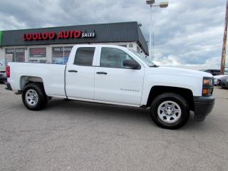 Used 2014 Chevrolet Silverado 1500 Work Truck 1WT Double Cab 2WD Certified for sale in Milton, ON