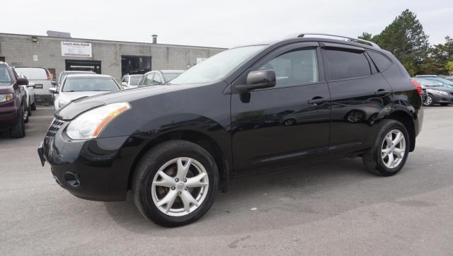 2009 Nissan Rogue Sl AWD CERTIFIED 2YR WARRANTY *FREE ACCIDENT* SUNROOF BLUETOOTH HEATED LEATHER ALLOYS PADDLES SHIFTER