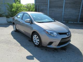 Used 2014 Toyota Corolla 2014 Toyota Corolla - 4dr Sdn CVT LE for sale in Toronto, ON