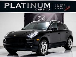Used 2015 Porsche Macan S,HEATED LEATHER, Clean Carfax for sale in Toronto, ON