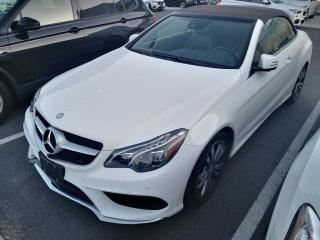 Used 2015 Mercedes-Benz E-Class E400 Cabriolet LOW MILEAGE, LOADED for sale in Ottawa, ON