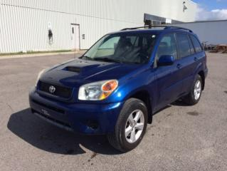 Used 2004 Toyota RAV4 4DR MANUAL 4WD for sale in Quebec, QC