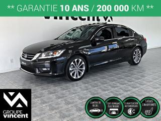 Used 2015 Honda Accord SPORT ** GARANTIE 10 ANS ** Impeccable sportive! for sale in Shawinigan, QC