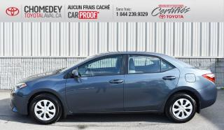 Used 2016 Toyota Corolla CE, Automatique for sale in Laval, QC