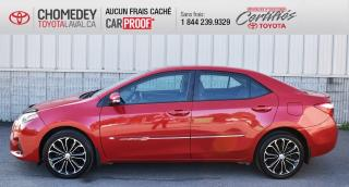 Used 2015 Toyota Corolla S for sale in Laval, QC