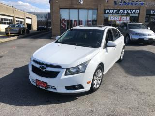 Used 2011 Chevrolet Cruze 2011 Chevrolet Cruze - 4dr Sdn LT Turbo w-1SA for sale in North York, ON