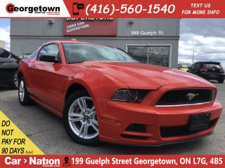 Used 2014 Ford Mustang V6 | 6 SPEED | POWER GROUP | FOGS | HOT RED COLOR for sale in Georgetown, ON