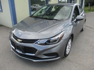 Used 2018 Chevrolet Cruze LIKE NEW LT EDITION 5 PASSENGER 1.4L - TURBO.. HEATED SEATS.. TOUCH SCREEN.. BACK-UP CAMERA.. BLUETOOTH SYSTEM.. KEYLESS ENTRY & START.. for sale in Bradford, ON