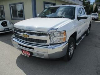 Used 2013 Chevrolet Silverado 1500 WORK READY CHEYENNE EDITION 6 PASSENGER 4.8L - VORTEC.. TWO-WHEEL DRIVE.. EXTENDED-CAB.. SHORTY.. CD/AUX INPUT.. TOW SUPPORT.. KEYLESS ENTRY.. for sale in Bradford, ON