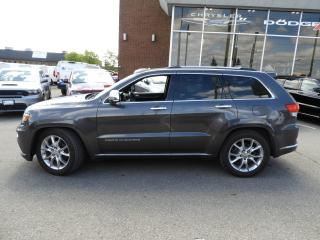 Used 2014 Jeep Grand Cherokee Summit NAVI/DUAL-PANE SUNROOF for sale in Concord, ON