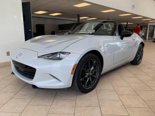 Used 2016 Mazda Miata MX-5 GS Convertible GPS Mags Noir for sale in Pointe-Aux-Trembles, QC