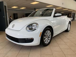Used 2014 Volkswagen Beetle 1.8 TSI Convertible Cuir for sale in Pointe-Aux-Trembles, QC