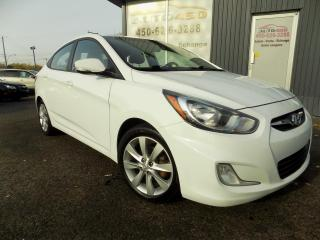 Used 2013 Hyundai Accent ***GLS,AUTOMATIQUE,AIR,TOIT*** for sale in Longueuil, QC