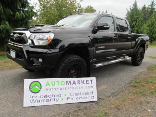 Used 2015 Toyota Tacoma TRD SPORT, LEATHER, NAVI, INSP, BCAA MBSHP, INSPECTED for sale in Surrey, BC