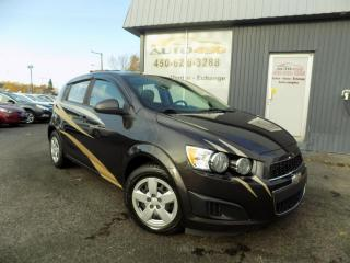 Used 2013 Chevrolet Sonic ***LS,AUTOMATIQUE,A/C,BLUETOOTH*** for sale in Longueuil, QC