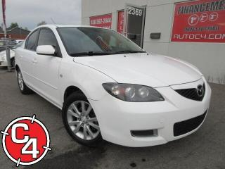 Used 2009 Mazda MAZDA3 GS TOIT MAG A/C GR ÉLECT ECONOMIQUE for sale in St-Jérôme, QC
