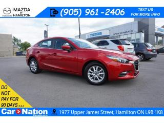 Used 2017 Mazda MAZDA3 SE | LEATHER | REAR CAM | HEATED SEATS | LOW KM for sale in Hamilton, ON