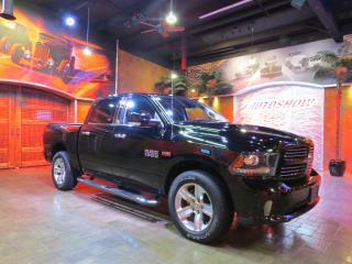 Used 2015 RAM 1500 Hemi Sport Crew!  Nav, S.Roof, Htd Lthr!! for sale in Winnipeg, MB
