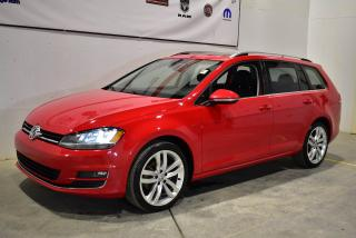 Used 2016 Volkswagen Golf 1.8 TSI Comfortline toit panoramique+cuir+Navi for sale in Sherbrooke, QC