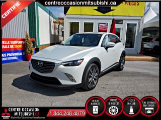 Used 2017 Mazda CX-3 AWD GT CUIR + TOIT OUVRANT + SYS. BOSE for sale in Blainville, QC