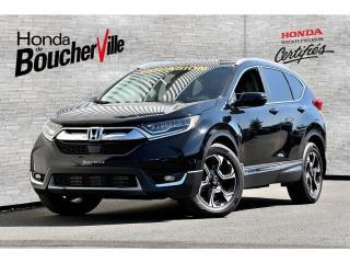 Used 2017 Honda CR-V Touring AWD w/HS Navigation, Pneus d'hiver inclus for sale in Boucherville, QC