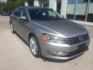 Used 2014 Volkswagen Passat TDI DIESEL Highline CUIR/SUEDE FENDER MAGS 18 for sale in St-Eustache, QC