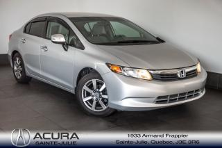 Used 2012 Honda Civic DX for sale in Ste-Julie, QC