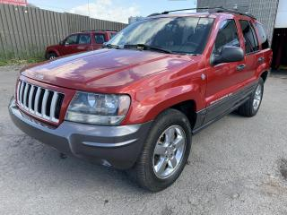 Used 2004 Jeep Grand Cherokee Laredo 4 portes, quatre roues motrices for sale in Montréal-Nord, QC