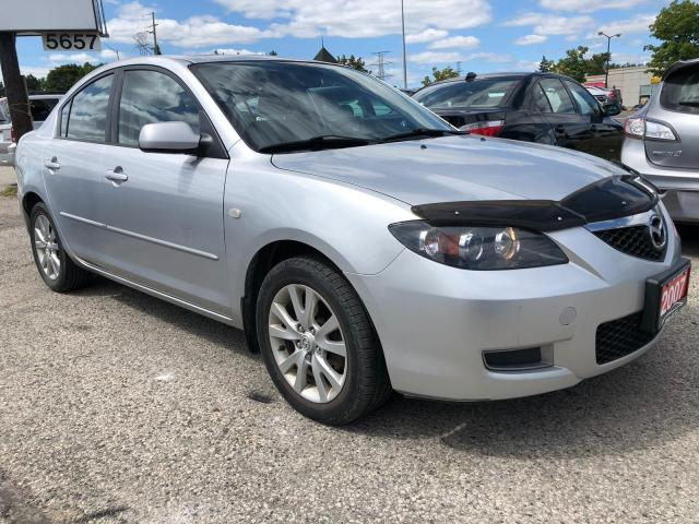 2007 Mazda MAZDA3 GS, SUNROOF, 3 YR WARRANTY, CERTIFIED