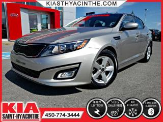 Used 2015 Kia Optima LX ** SIÈGES CHAUFFANTS / BLUETOOTH for sale in St-Hyacinthe, QC