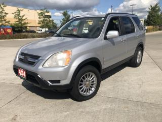 Used 2002 Honda CR-V AWD,Leather,Sunroof,3/Y warranty available for sale in Toronto, ON