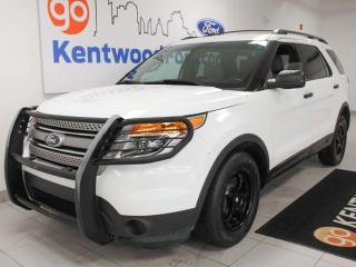 Used 2014 Ford Explorer FWD with power drivers seat. Explore the world one km at a time for sale in Edmonton, AB