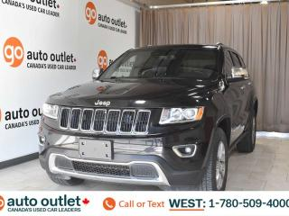 Used 2016 Jeep Grand Cherokee Limited, 3.6L V6, 4wd, Leather heated front & rear seats, Heated steering wheel, Backup camera, Sunroof, Bluetooth for sale in Edmonton, AB