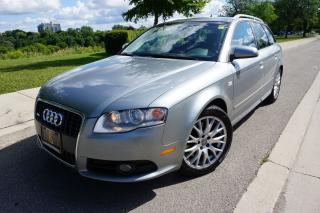 Used 2008 Audi A4 2.0T AVANT / S-LINE / 1 OWNER / LOCALLY OWNED for sale in Etobicoke, ON