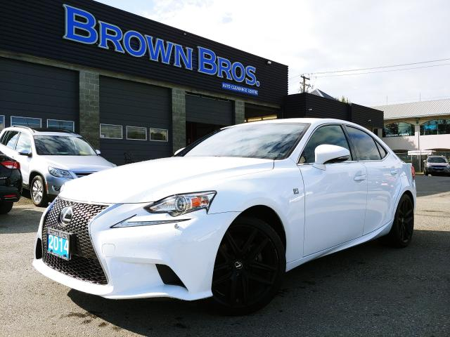 2014 Lexus IS 250 LOCAL, LOW KM'S