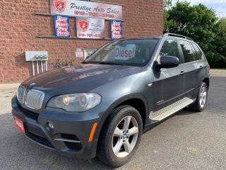 Used 2011 BMW X5 SUMMER BLOWOUT SALE/35d/DIESEL/AWD/NO ACCIDENT for sale in Cambridge, ON