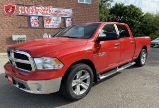Used 2015 RAM 1500 SUMMER BLOWOUT SALE/SLT/ECODIESEL/4X4/CREW CAB for sale in Cambridge, ON